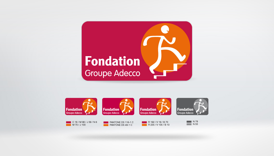 Logo Fondation Groupe Adecco