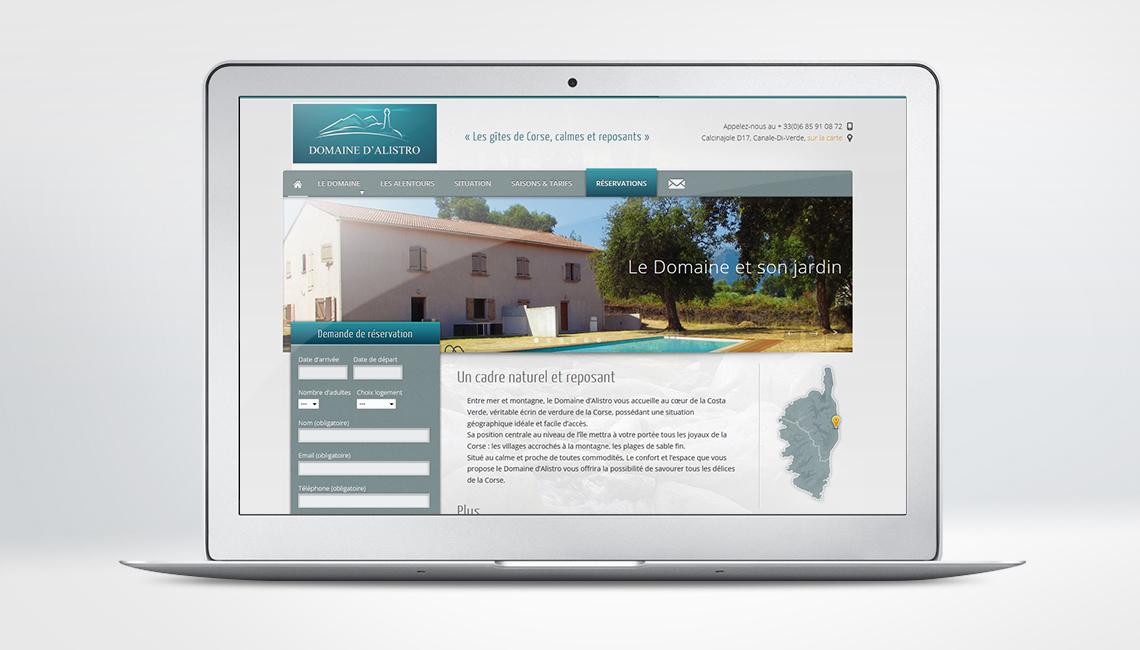 Site Domaine d'Alistro
